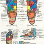 Voetreflexologie Zones